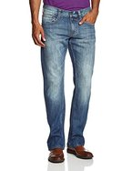 MUSTANG Herren Boot-Cut Jeans Oregon Boot, Gr. W34/L32, Blau (strong bleach 535)