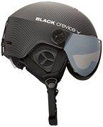 Black Crevice Erwachsene Skihelm Gstaad, schwarz carbon, 54-57 cm, BCR143921-CW-1
