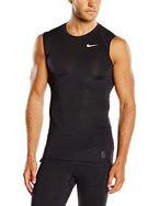 Nike Herren Unterhemd COOL COMP SL T-Shirt, schwarz/grau/weiß, L, 703092