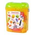 PlayGo 3122 - My Food Case, Spiel-Lebensmittel für Kaufladen oder Spielküche
