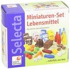 Selecta Spielzeug 4207 - Miniaturen-Set Lebensmittel