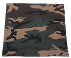 Bandana, Stil: Militärisch, US-Army, Camouflage-Muster, 55cm x 55cm, für Airsoft Paintball Motorrad, Biker, Outdoor
