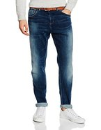 s.Oliver Herren Loose Fit Jeans Hose Relaxed, Blau (Blue Denim Stretch 55z4), W34/L32