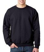 Gildan Heavy Blend Pullover mit Rundausschnitt (L) (Schwarz) L,Schwarz
