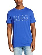 BOSS Hugo Boss Herren T-Shirt RN, Blau (Medium Blue 420), Large
