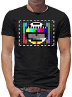 TLM Testbild T-Shirt Herren XL Schwarz