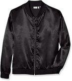 NAME IT Mädchen Jacke Nitidola Bomper Jacket Nmt, Schwarz (Black), 140 (Herstellergröße: 134-140)