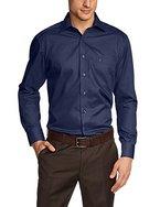 CASAMODA Herren Comfort Fit Business Hemd 006050, Gr. Kragenweite: 43, Blau (blau 109)