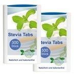 Stevia Tabs 2x 300 im Spender Reb-A 97% Süße