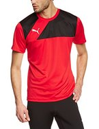 Puma Herren T-Shirt Esquadra, red-black, L, 654379 14