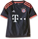 adidas Jungen Fußballtrikot FC Bayern München UCL Replica, night navy/flash red, 152, S08661