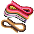 eBoot Quilling Papier Streifen Quilling Kunst Streifen 1 080 Streifen 45 Farben Quilling Papier Set 3 mm Breite 54 cm Länge