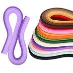 eBoot Quilling Papier Set 1 080 Stück Quilling Kunst Streifen, 45 Farben, 5 mm Breite und 54 cm Länge