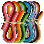 Juya Papier Quilling Set 720-Streifen 36 Farben 54cm Länge / Streifen Papierbreite 3mm