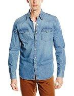 Levi's Herren Regular Fit Freizeithemd, Gr. XX-Large, Blau (Red Cast Stone)