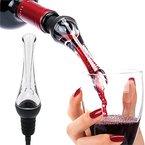CalMyotis® Wein karaffen dekantierungsausgiesser - Belüften ausgiesser,Luxus Weinbelüfter Weindekanter - Passend für alle Weinflaschen