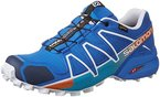 Salomon Herren Speedcross 4 Gtx Traillaufschuhe, Blau (Bright Blue/Union Blue/White), 42 2/3 EU
