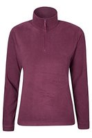 Parallel Damen Fleece Pullover Burgunderrot 38